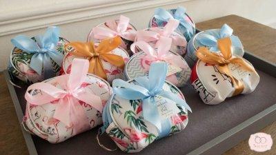 Coin bag - flamingo design (กระเป๋าใส่เหรียญฟรามิงโก้)