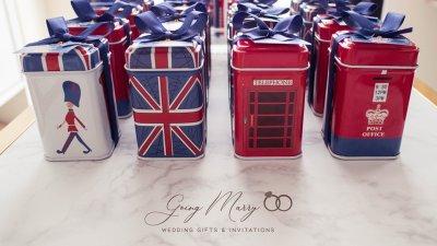Metal box England design