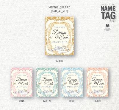 Name tag catalog - แบบป้ายชื่อของชำร่วย