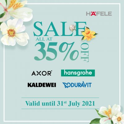 SALE ALL AT 35% OFF