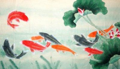 เลี้ยงปลาประดับรูปปลา เสริมโชคลาภเงินทอง