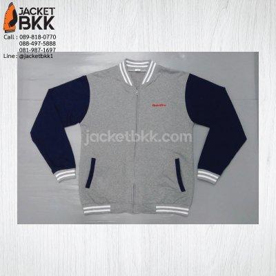 ผลงาน - งานปัก (เสื้อแจ็คเก็ตทรงเบสบอล)