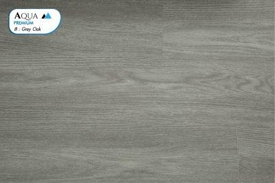 พื้นไม้ SPC ทนชื้น สี Grey Oak