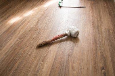ไม้พื้น SPC ทนชื้น กันปลวก Aqua สี Rustic Elm