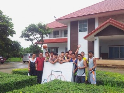 "CSR ""แป้นบาสเพื่อน้อง"" ที่ศูนย์พระคริสตธรรมเบธเอล และศูนย์นักเรียนหมงเอิน อ.แม่สาย จ.เชียงราย"