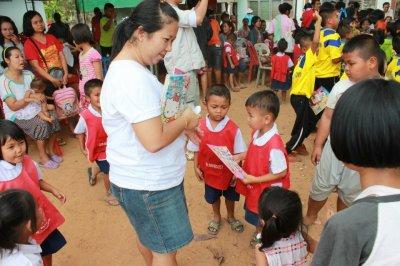CSR ที่ศูนย์เด็กเล็ก ตำบลคลองตะเกรา อำเภอท่าตะเกียบ จังหวัดฉะเชิงเทรา
