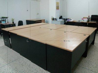 ผลงานโต๊ะทำงานไม้