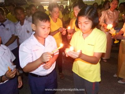 Candle Light for King 13 Oct 2018