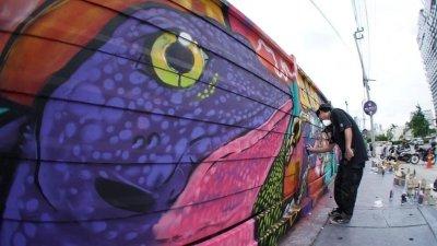 Rama 9 Graffiti Showcase by Show Dc x HypeSpray
