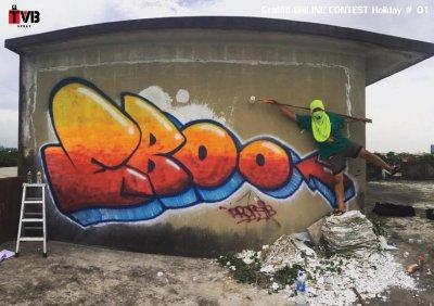 การแข่งขัน Graffiti Online