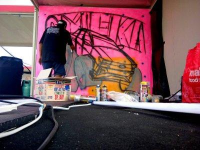 งาน Graffiti Contest ของ Revo Racing Mania