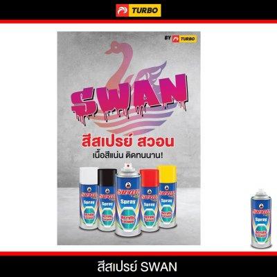 ภาพโฆษณาสีสเปรย์สวอน