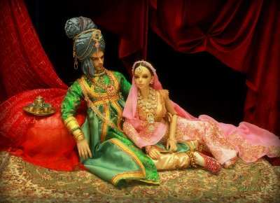 Maharaja and his consort