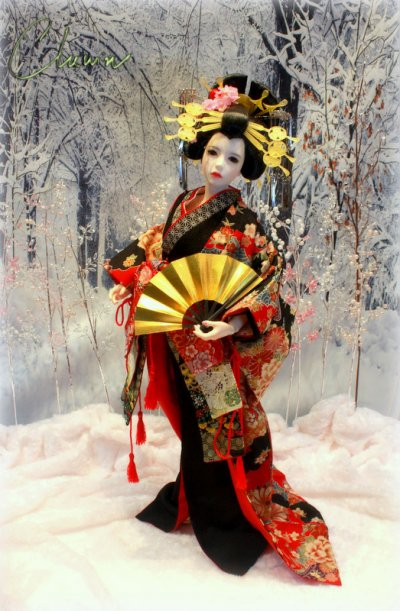 Various Japanese costumes