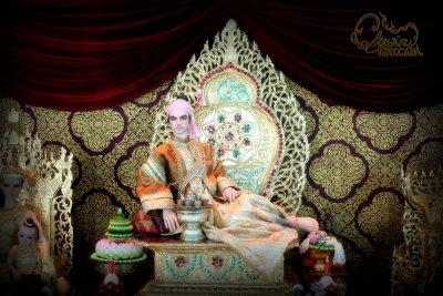 Golden Throne of Suwannapakas Royalty