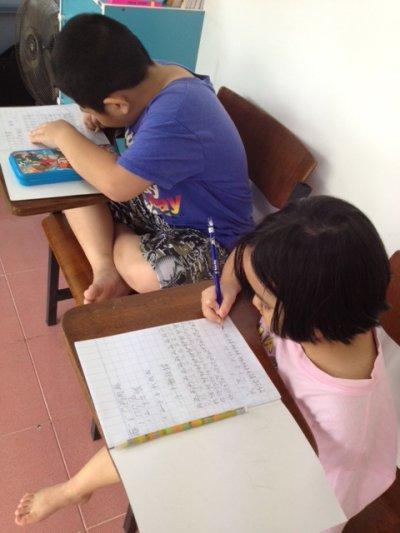 หลักสูตรภาษาจีนสำหรับเด็ก (6-12 ปี)