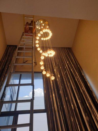 โคมไฟนีโอไลท์  ณ บ้านลูกค้า2