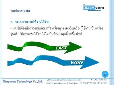 ระบบ Easy Rent (โปรแกรมบริหารจัดการธุรกิจหอพัก / อพาร์ทเม้นท์) สามารถใช้งานผ่านมือถือได้