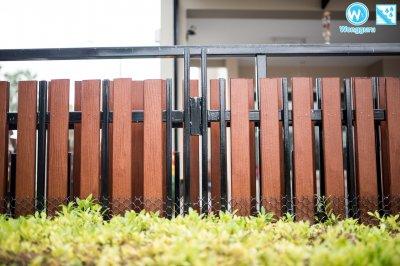 งานติดตั้งไม้รั้วไฟเบอร์ซีเมนต์ by SCG