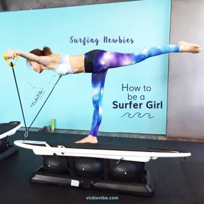 How to Be a Surfer Girl
