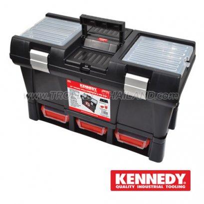 KEN-593-2360K กล่องเครื่องมือพลาสติก PLASTIC TOOL BOXES