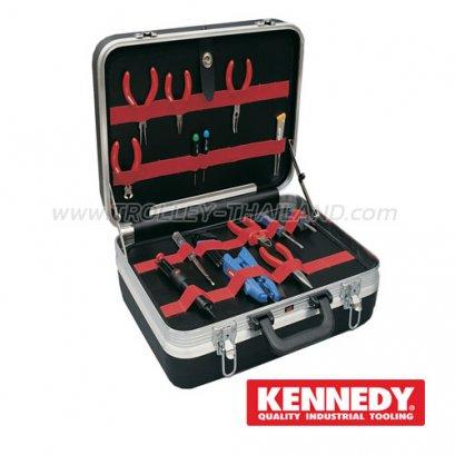 KEN-593-2550K กระเป๋าเครื่องมือทรงเจมส์บอนด์ ABS Plastic Tool Case