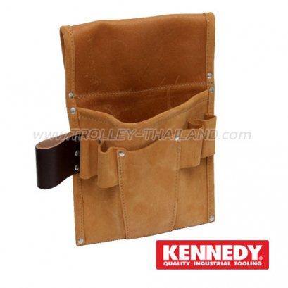 KEN-593-3640K กระเป๋าเครื่องมือแบบคาดเอว (หนัง) TOOL BAG