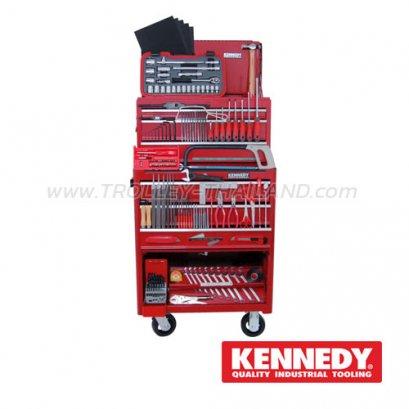 KEN-595-0550K ชุดเครื่องมือช่าง 208 Piece Apprentice Engineers Tool Kit