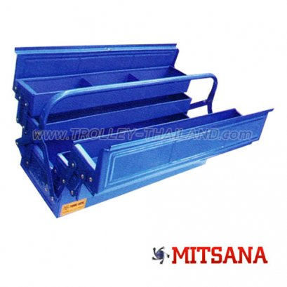 เบอร์ 05-3 ชั้น 18 นิ้ว กล่องเครื่องมือเหล็ก MITSANA