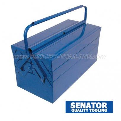 SEN-593-1370K กล่องเครื่องมือพลาสติกมีลิ้นชัก กล่องเก็บอะไหล่