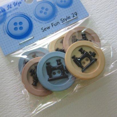 กระดุมตกแต่ง Sew Fun Style