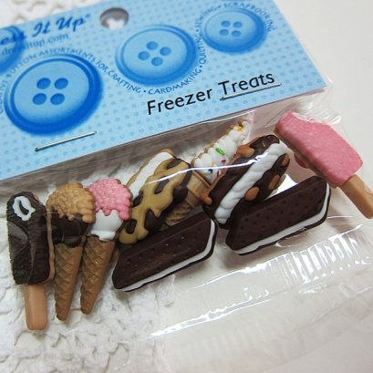 กระดุมแฟนซี Freezer Treats