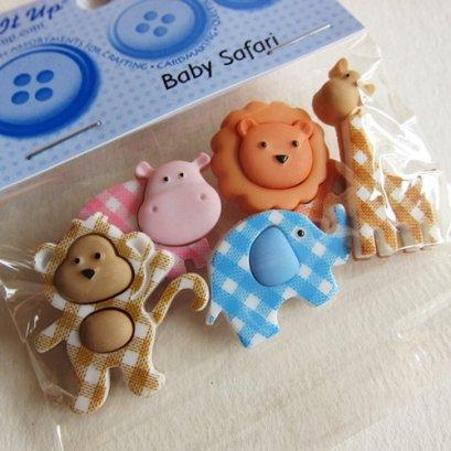 กระดุมแฟนซี Baby Safari