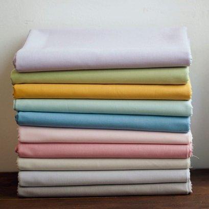 ผ้าคอตต้อนสีพื้น ขนาด 1/4 เมตร (50 x 70 ซม.)