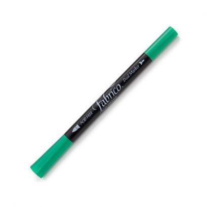 ปากกาเพ้นท์ผ้า Fabrico Dual Marker (สีเขียวเข้ม)