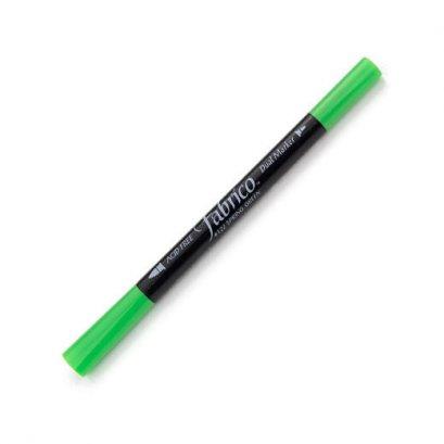 ปากกาเพ้นส์ผ้า Fabrico Dual Marker (สีเขียวสด)
