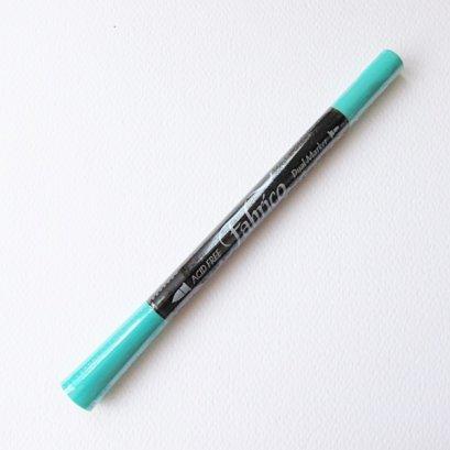 ปากกาเพ้นท์ผ้า Fabrico Dual Marker (สีเขียวพาสเทล)