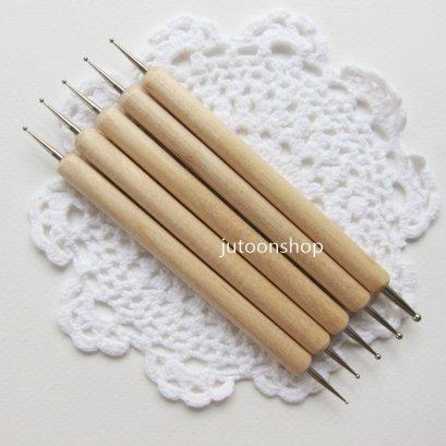 ปากกาหัวเหล็ก ลอกลายงานปัก ( 5 ด้าม/แพค)