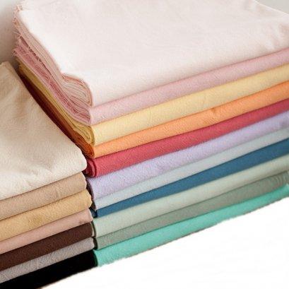 ผ้าทอสีพื้น ขนาด 1/4 เมตร (50 x 70 ซม.)