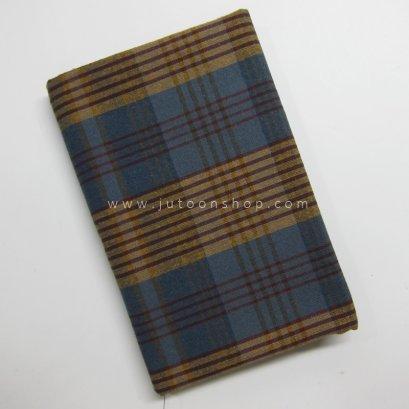 ผ้าทอลายสก๊อต ขนาด 1/4 เมตร (50 x 70 ซม.)