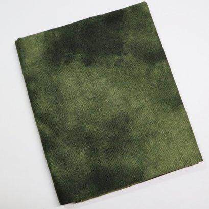 ผ้าคอตตอน สีเขียวเข้ม ขนาด 45 x 55 ซม.