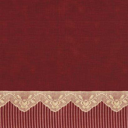 ผ้าคอตต้อน Lecien by Masako สีแดง ขนาด 1/2 เมตร (50 x 110 ซม.)
