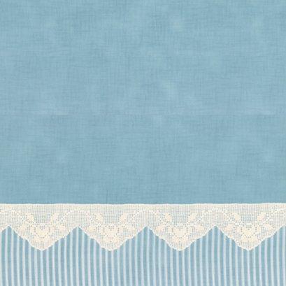 ผ้าคอตต้อน Lecien by Masako สีฟ้า ขนาด 1/2 เมตร (50 x 110 ซม.)