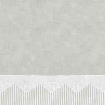 ผ้าคอตต้อน Lecien by Masako สีเทา ขนาด 1/2 เมตร (50 x 110 ซม.)