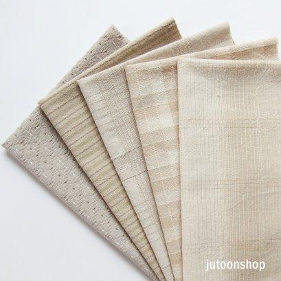 ผ้าทอจัดเซต 5 ชิ้น ขนาด 25 x 35 ซม. (1/16 ม.)