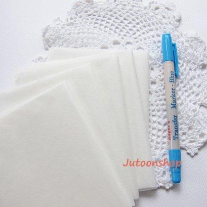 กระดาษลอกลายญี่ปุ่น ขนาด 30 x 50 ซม. (ใช้กับปากกาลอกลาย Transfer Marker Adger)