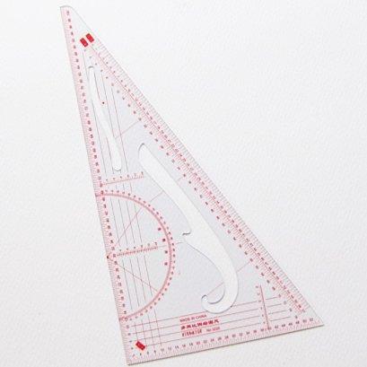 ไม้บรรทัดสามเหลี่ยม ขนาด 11 x 20.5 ซม.