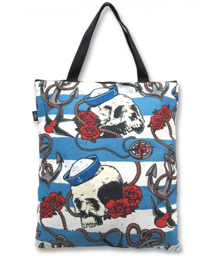 Liquor Brand NAUTICAL SKULL Accessories Tasche