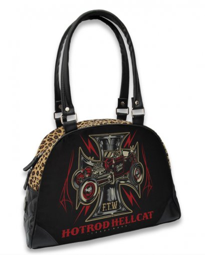 Hotrod Hellcat IRON CROSS FTW Damen Taschen-Handtasche