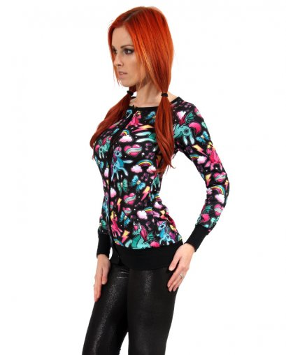 Liquor Brand UNICORN BLACK Damen Cardigans